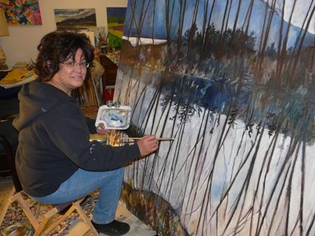 Pua painting 1