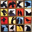 Southeast Hieroglyphic - 16 Ravens